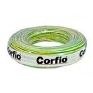 Cabo Flex Rolo 100 metros 1.50MM 750V Verde/Amarelo -  Corfio