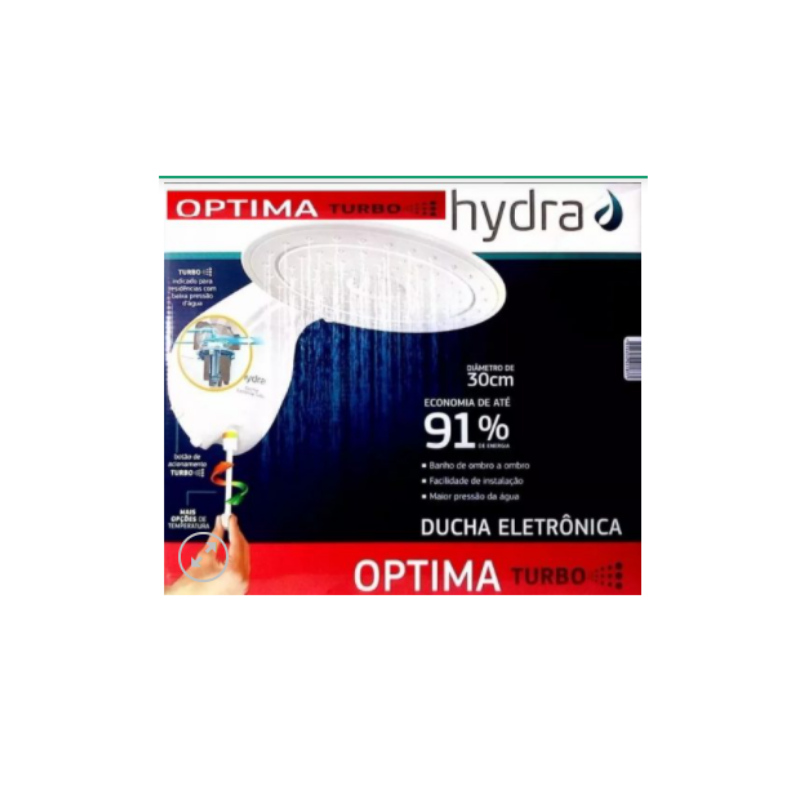DUCHA ELETRONICA OPTIMA TURBO 7700W 220V HYDRA