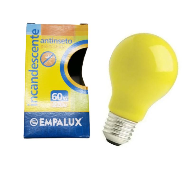 LAMPADA INCANDESCENTE 60W 220V INSETILUX
