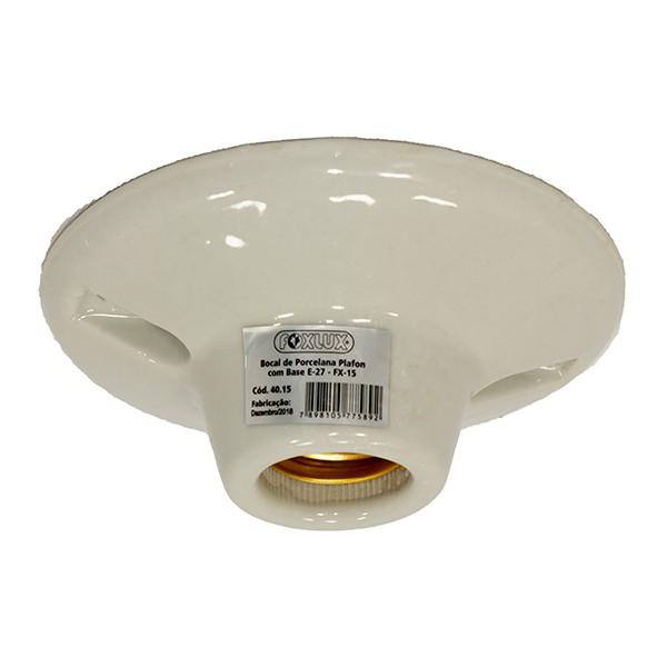 PLAFON INTELIGENTE P/ LAMP PL - PORCELANA - FX 15 -