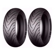 2 Pneus Biz 100/125 Traseiro Michelin 80/100-14 Pilot Street