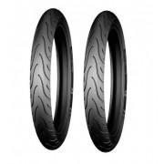 2 Pneus Moto Michelin Pilot Street Dianteiro 2.75 18 42p