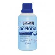 ACETONA REMOVEDOR FARMAX 100ML