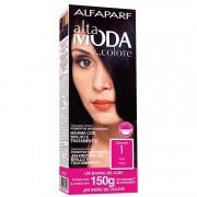 Coloração Permanente ALTA MODA 150G 1 PRETO
