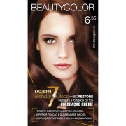 Coloração Permanente BEAUTY KIT 6.35 CHOC GLAMOUR