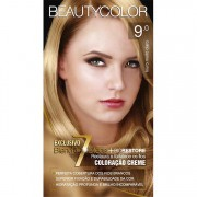 Coloração Permanente BEAUTY KIT 9.0 LOURO MT CLARO