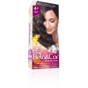 Coloração Permanente BELA&COR 110G 4.0 CASTANHO MEDIO