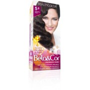 Coloração Permanente BELA&COR 110G 5.0 CASTANHO CLARO