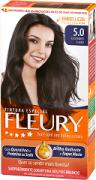 Coloração Permanente FLEURY KIT 5.0 CAST CLARO