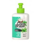 CREME PARA PENTEAR COCO E BABOSA 300ML - GOTA DOURADA