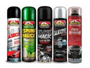 Kit 5 Sprays Para Lavagem Automotiva A Seco Proauto