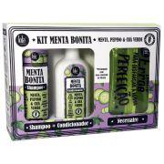 Kit Shampoo+condicionador Menta Bonita E Necessaire - Lola