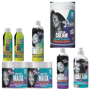 Kit Soul Power Anti ressecamento 7 Produtos Magic Help