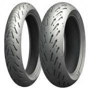 Par Pneu Road 5 Michelin Tl 120/70 Zr17(58w)+180/55 Zr17(73)