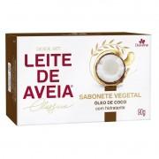 SABONETE LEITE DE AVEIA ÓLEO DE COCO 90G - DAVENE