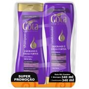 SHAMPOO+CONDICIONADOR GOTA DOURADA 340ML JABOR/ERVAS FOR