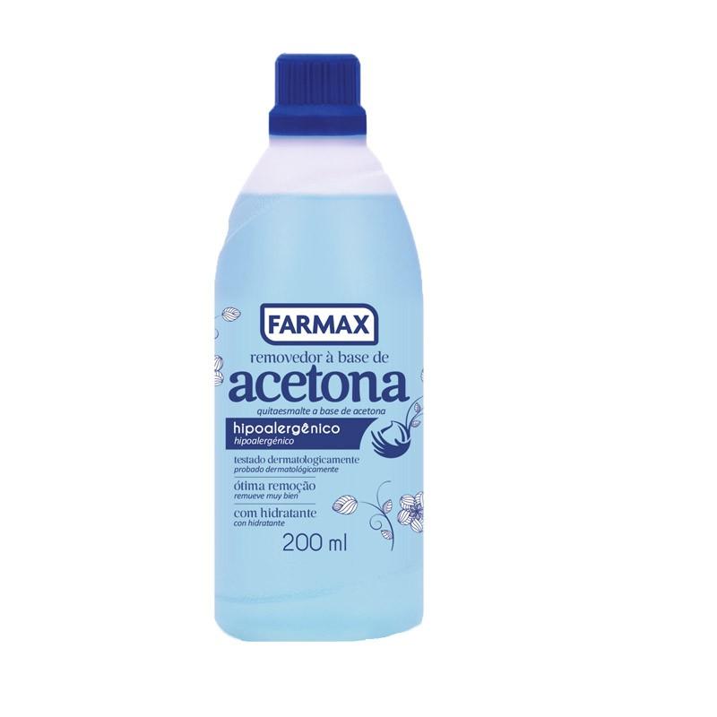 ACETONA REMOVEDOR 200ML - FARMAX