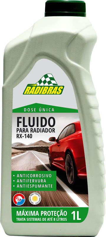 ADITIVO PARA RADIADOR DOSE ÚNICA RX-140 VERDE 1L - RADIBRAS
