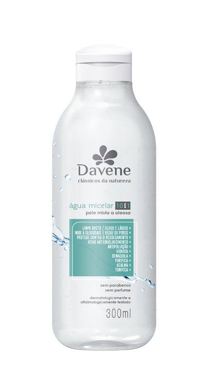 Agua Micelar Classicos Da Nat Pele Mist/oleo 300ml - Davene