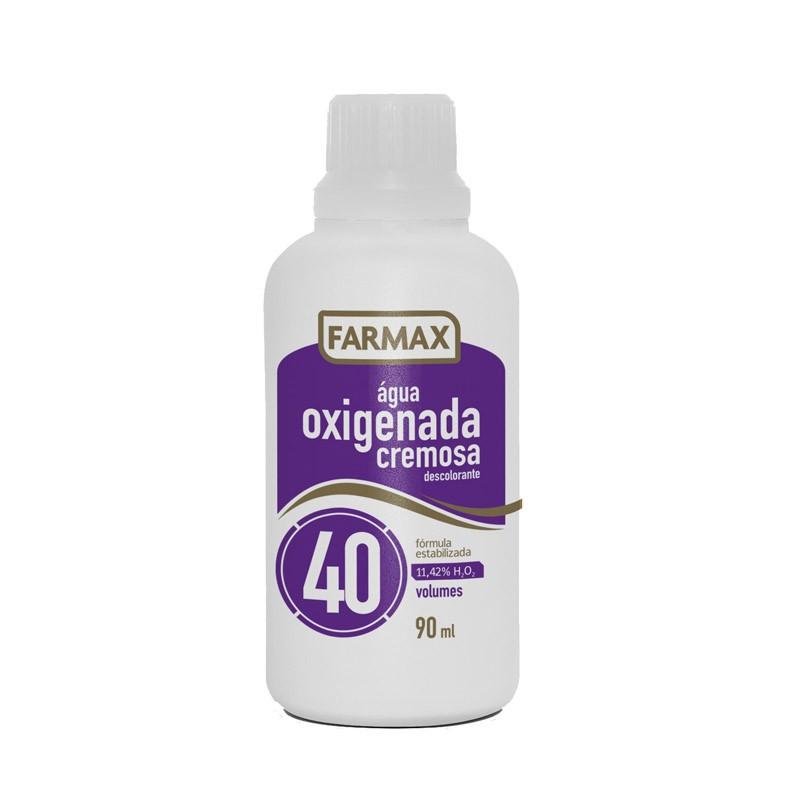 ÁGUA OXIGENADA CREMOSA 90ML 40VOL - FARMAX