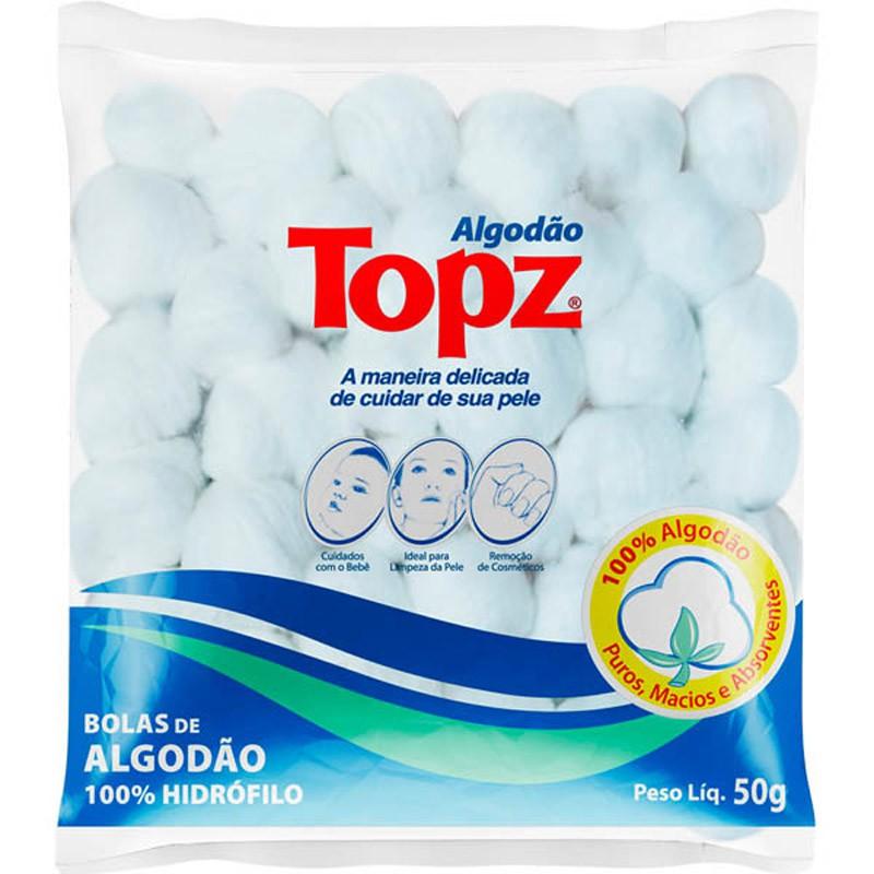 ALGODÃO TOPZ BOLA 50G