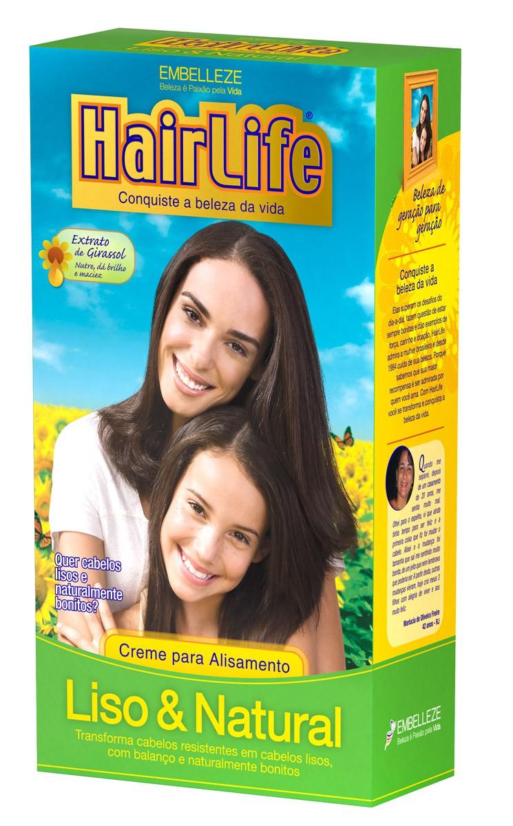 ALISANTE HAIR LIFE 180G LISO NATURAL