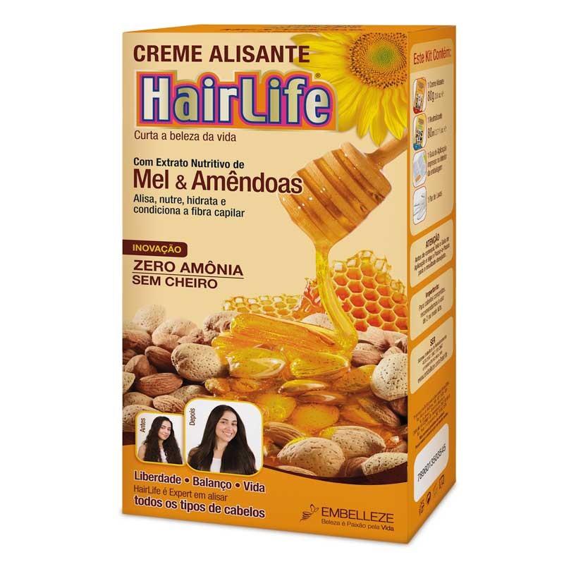 ALISANTE HAIR LIFE 180G MEL E AMÊNDOAS