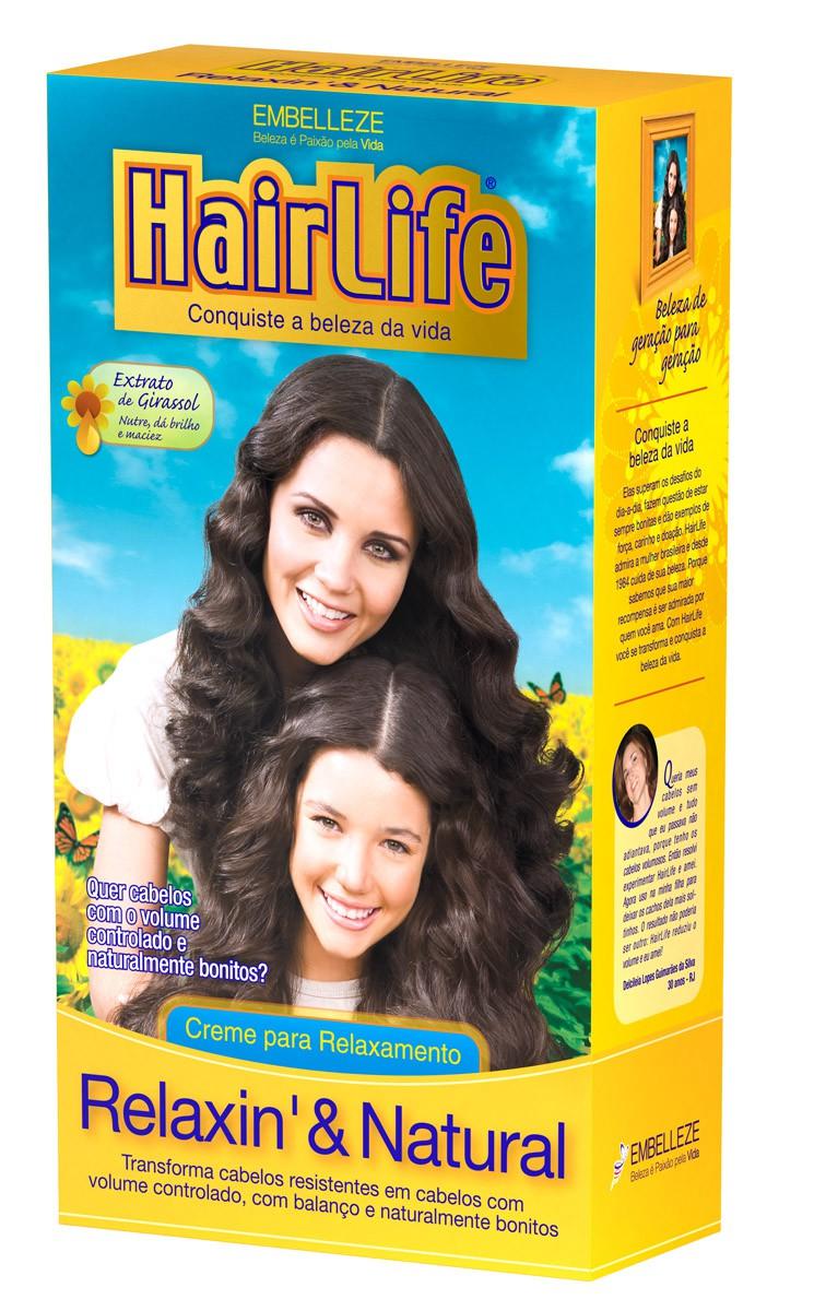 ALISANTE  HAIR LIFE 180G RELAXIN NAT