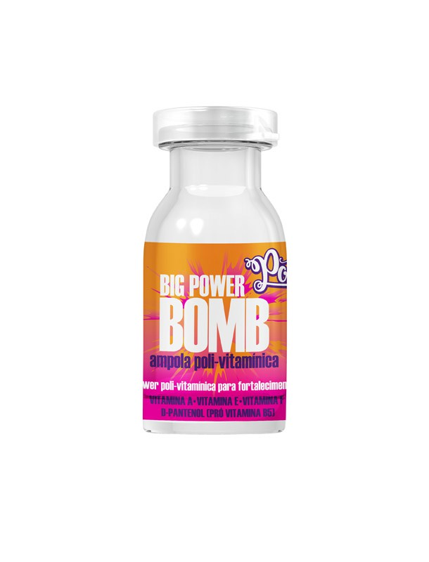 AMPOLA POLI-VITAMINICA BIG POWER BOMB SOUL POWER 12ML