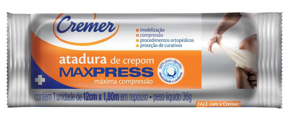 ATADURA CREMER MAXPRESS 12CMX1,8M