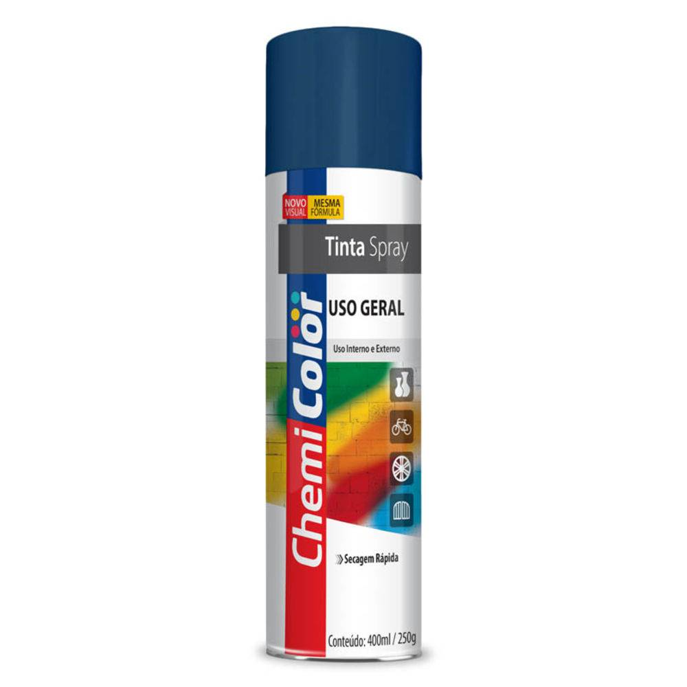 TINTA CHEMICOLOR USO GERAL ALUMINIO 400ML - BASTON