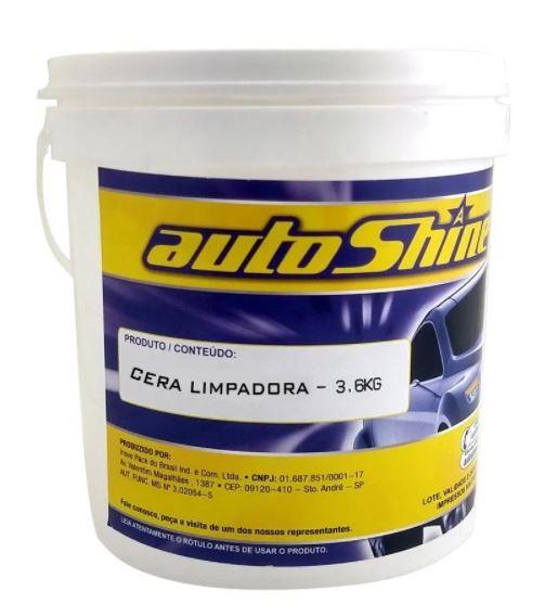 CERA LIMPADORA 3,6KG - AUTOSHINE