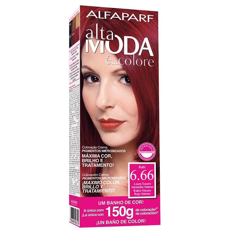 Coloração Permanente ALTA MODA 150G 6.66 LO ES V I