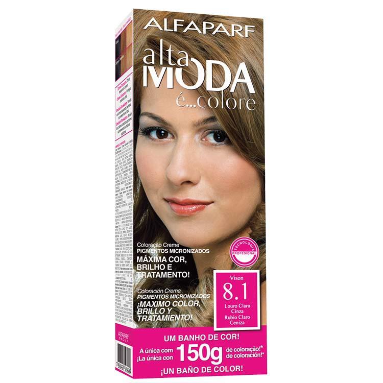 Coloração Permanente ALTA MODA 150G 8.1 LOU CL CIN