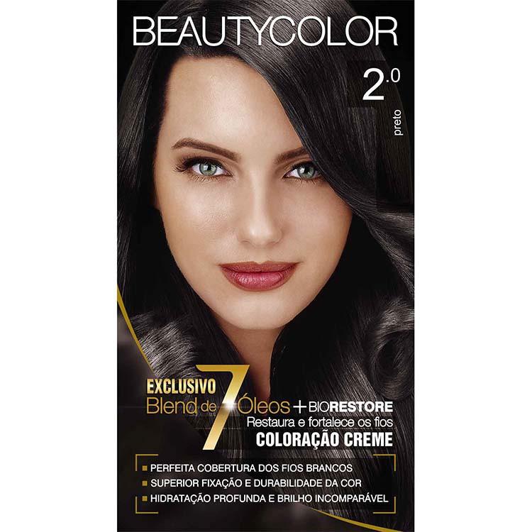 Coloração Permanente BEAUTY KIT 6.0 LOURO ESCURO