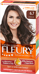 Coloração Permanente FLEURY KIT 6.7 CHOCOLATE