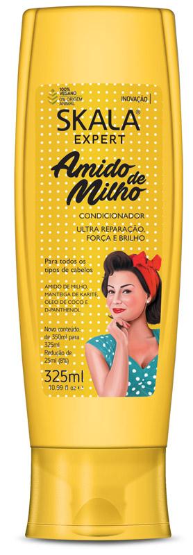 CONDICIONADOR AMIDO DE MILHO 325ML - SKALA