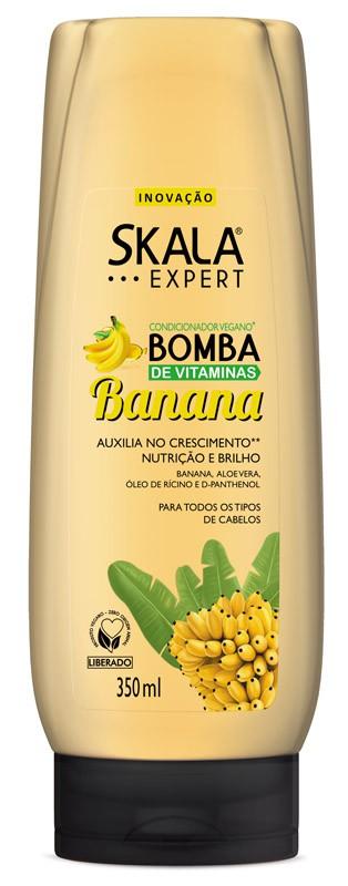 CONDICIONADOR BOMBA DE VITAMINAS BANANA 350ML - SKALA