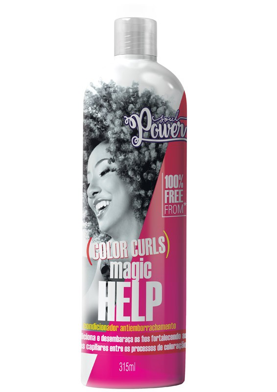 CONDICIONADOR SOUL POWER COLOR CURLS MAGIC HELP 315ML - BEAUTY COLOR