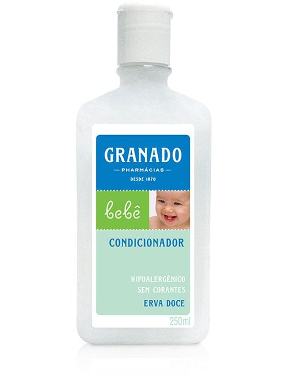 CONDICIONADOR INFANTIL BEBÊ HIPOALERGÊNICO ERVA DOCE 250ML - GRANADO
