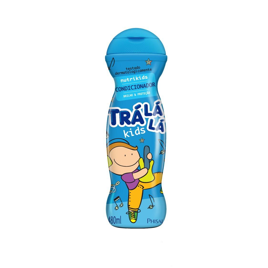 CONDICIONADOR INFANTIL TRALALA KIDS 480ML NUTR MUSI