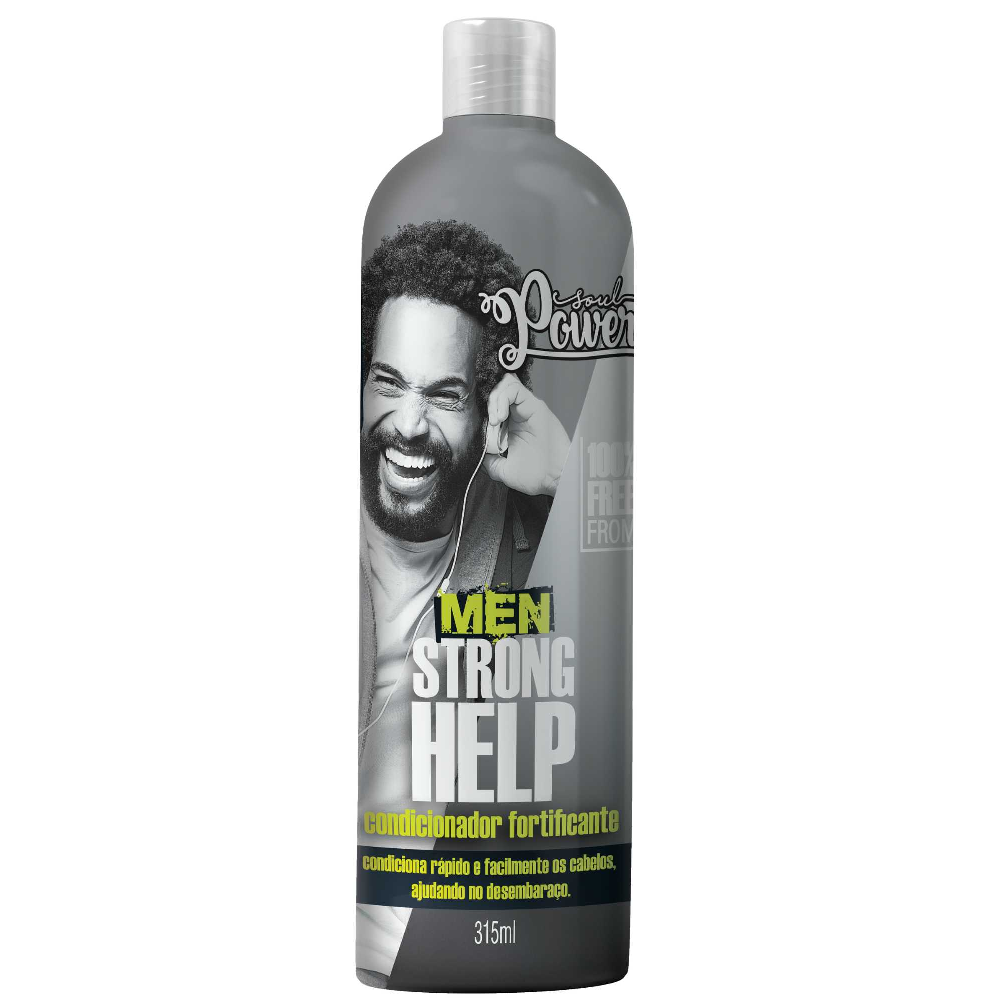 CONDICIONADOR MEN STRONG HELP - SOUL POWER 315ML