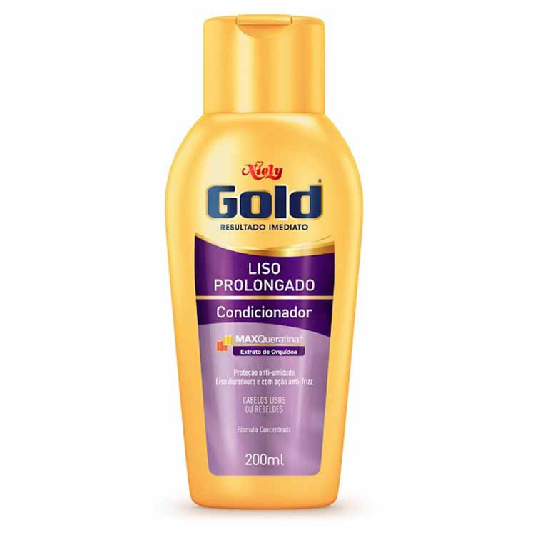 CONDICIONADOR NIELY  GOLD 200ML LISO PROLONGADO