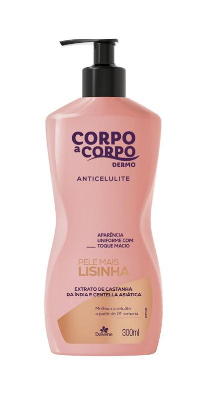CORPO A CORPO DERMO LOCAO ANTICELULITE - 300ML