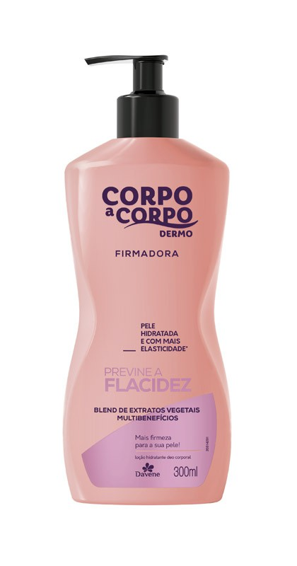CORPO A CORPO DERMO LOCAO FIRMADORA - 300ML