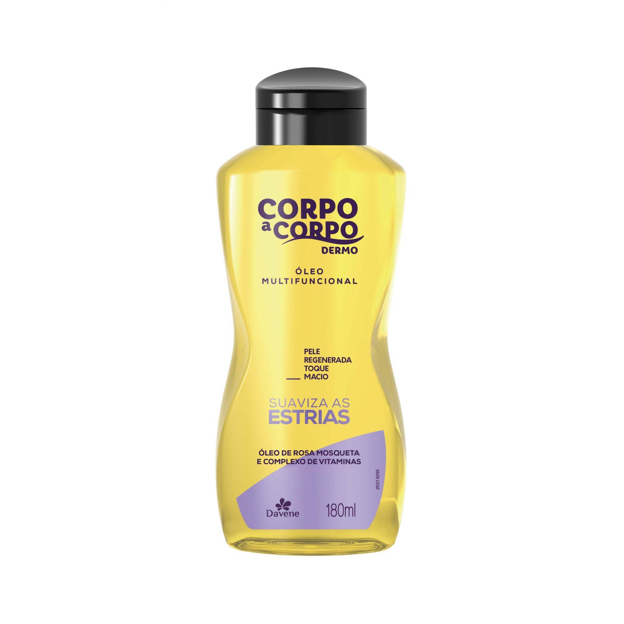 Corpo A Corpo Dermo Óleo Multifuncional - 180ml