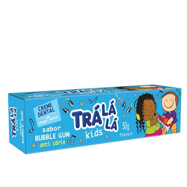 CREME DENTAL INFANTIL TRALALA KIDS 50G BUBBLE GUM