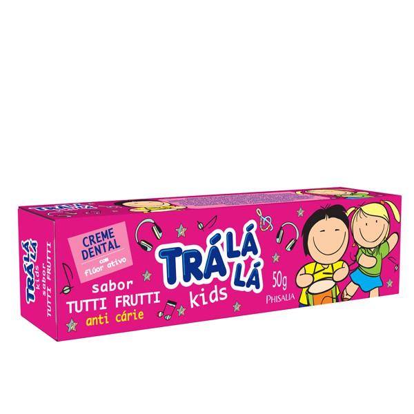 CREME DENTAL INFANTIL TRALALA KIDS 50G T FRUTTI