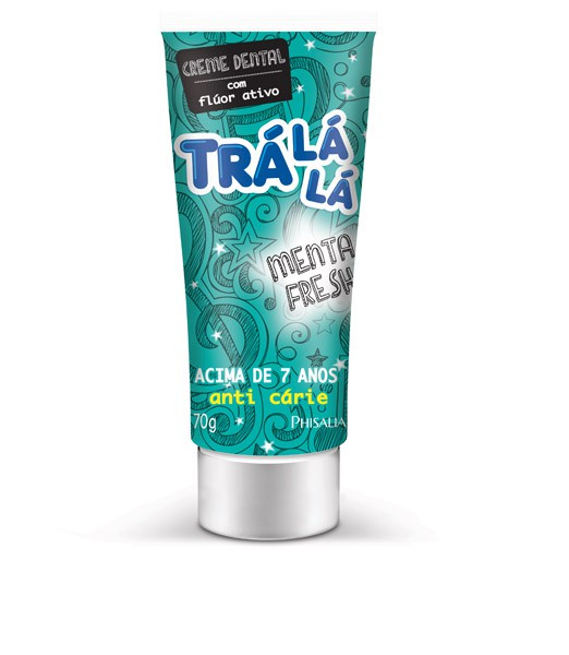 CREME DENTAL INFANTIL TRALALA KIDS 70 G MENTA FRESH