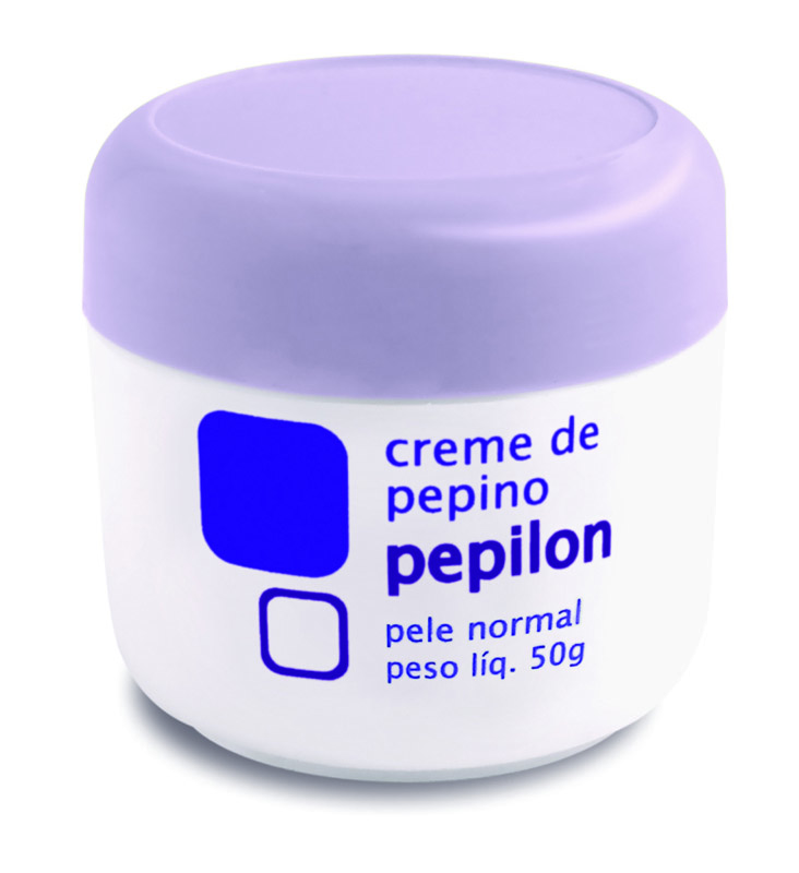 CREME FACIAL PEPINO PELE NORMAL 50G - PEPILON
